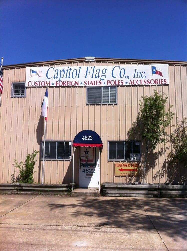 Capitol Flag: 4822 Fannin St, Houston, TX