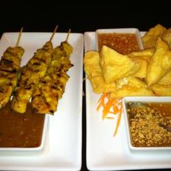 Photo Of Celadon Thai Cuisine   Springfield, VA, United States. Satay And  Tofu