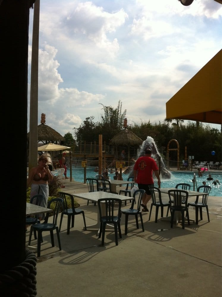 Nice Day To Chilax At The Pool Bar Yelp