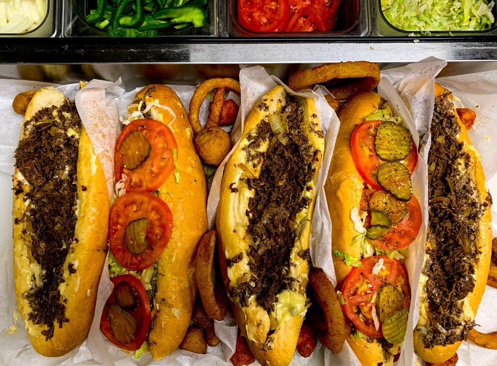 Food from Weeyums Philly Style