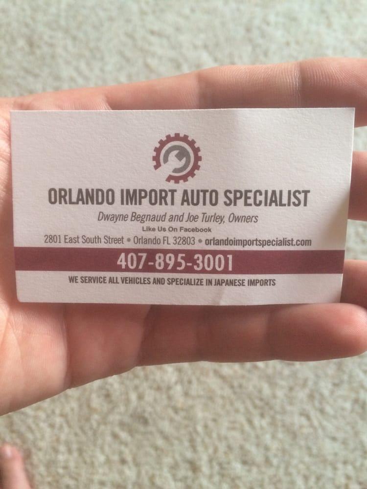 Orlando Import Auto Specialists
