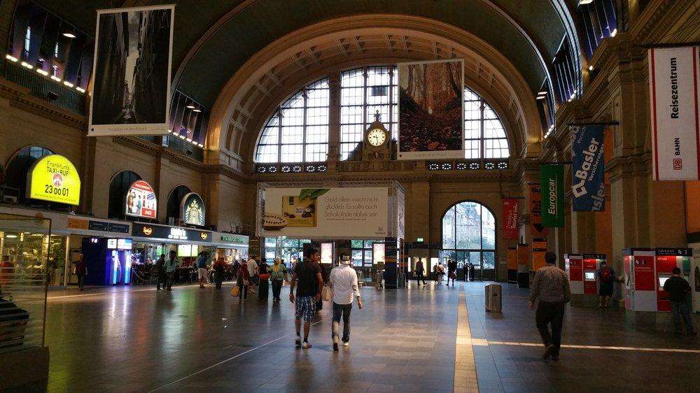 Main Hall In Frankfurt Hauptbahnhof Yelp