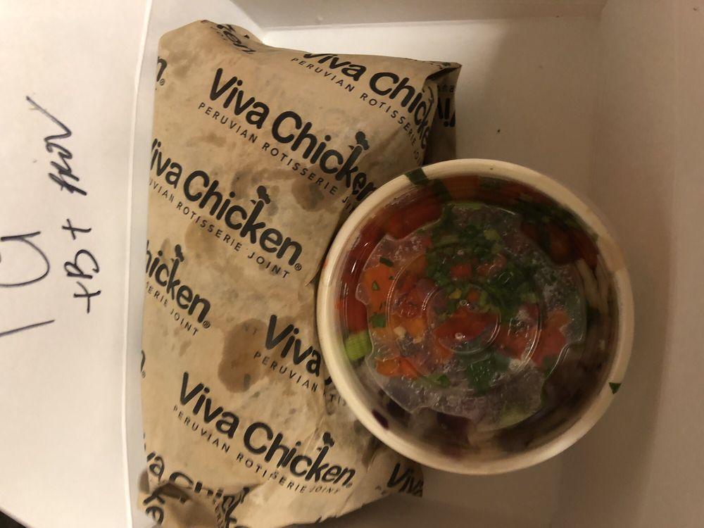 Food from Viva Chicken