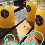 """Manmosa"""" - Champagne, orange juice, and wheat beer (Blue Moon or ..."""