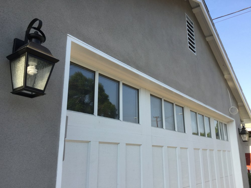Lori helped us pick exterior lighting that fit our carriage house style garage yelp for Carriage house exterior lights