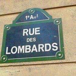 rue des Lombards - Restaurants - Paris, 1er, Paris, France