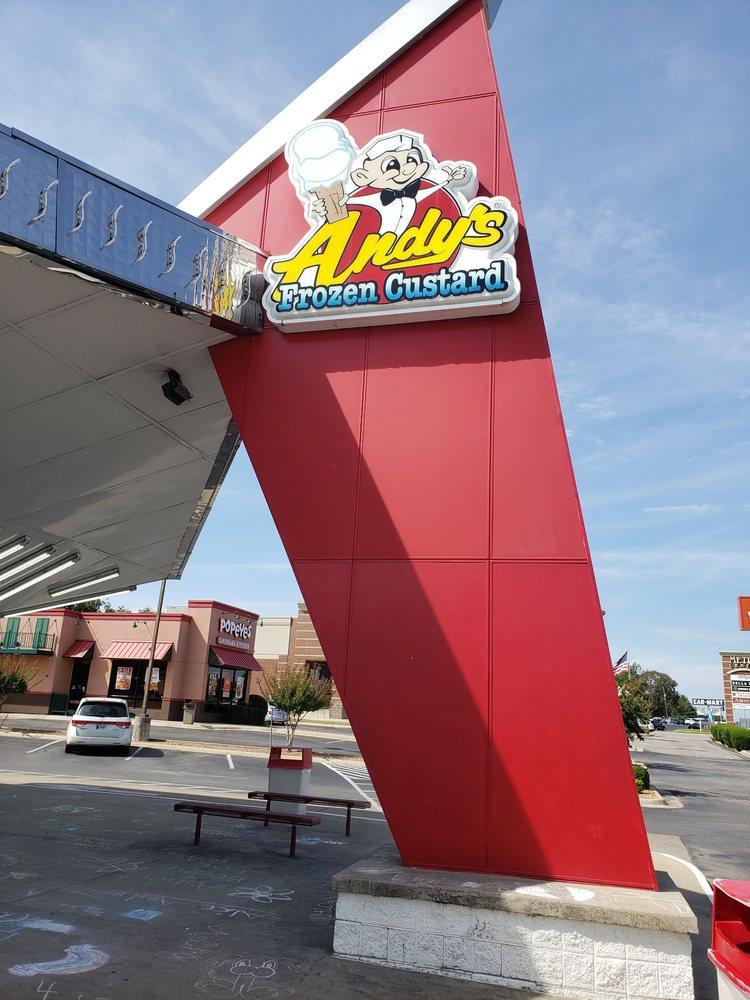 Andy's Frozen Custard: 1327 Red Wolf Blvd, Jonesboro, AR