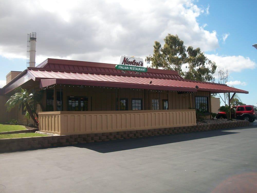 Nicolosi S Italian Restaurant San Diego Ca