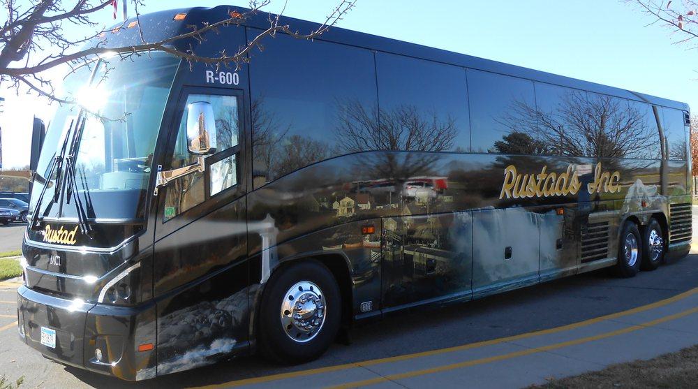 Rustad Bus Service: 208 N 12th St, Kerkhoven, MN