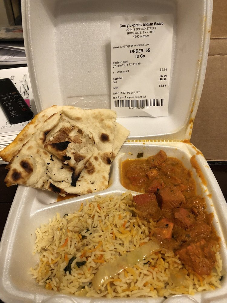 Curry Express Indian Bistro: 2014 S Goliad St, Rockwall, TX