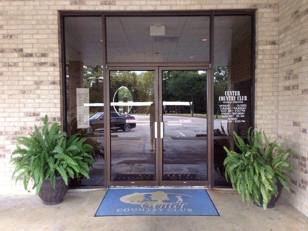Center Country Club: 3839 Hwy 96 N, Center, TX