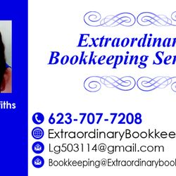 Extraordinary bookkeeping services get quote bookkeepers 9619 photo of extraordinary bookkeeping services peoria az united states business card reheart Images