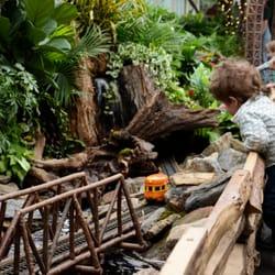 Photo Of New York Botanical Garden   Bronx, NY, United States. Train Show
