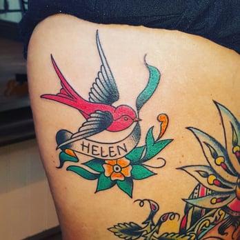 tattoos massage diepe keel