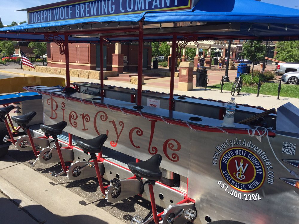 Biercycle Adventures: 222 Commercial St, Stillwater, MN