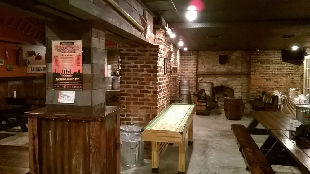 Backstep Brewing Company: 125 N Green St, Crawfordsville, IN