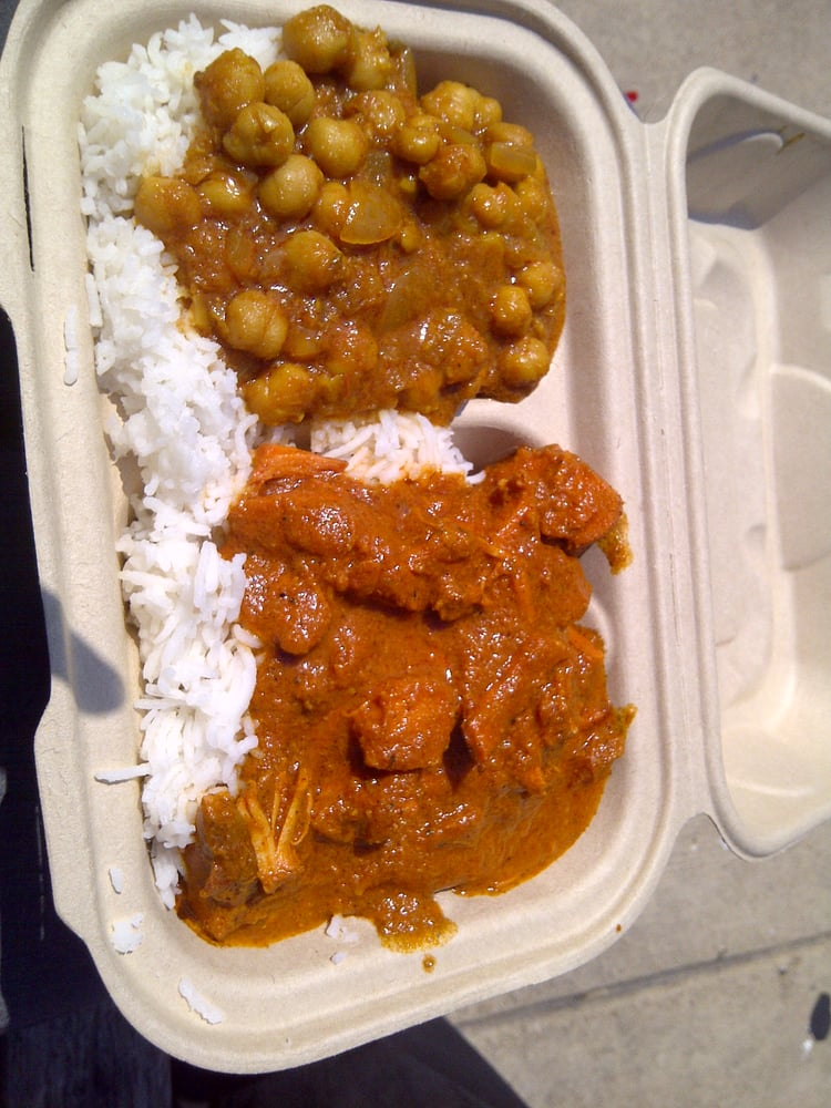 Butter Chicken w/ Chick Peas - Yelp