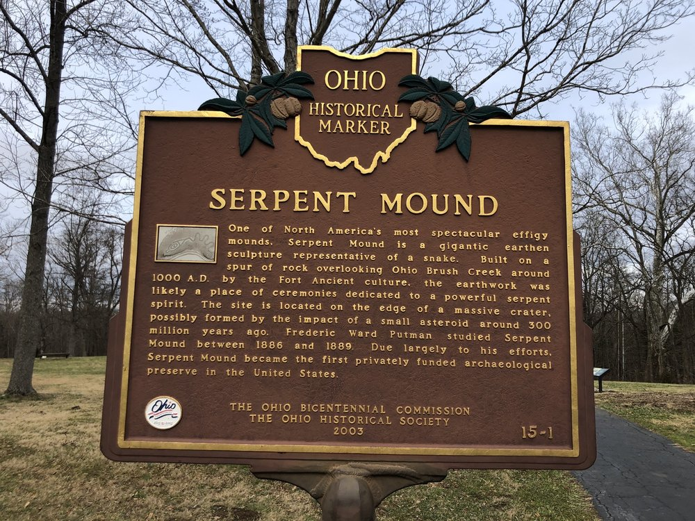 Serpent Mound: 3850 State Rte 73, Peebles, OH