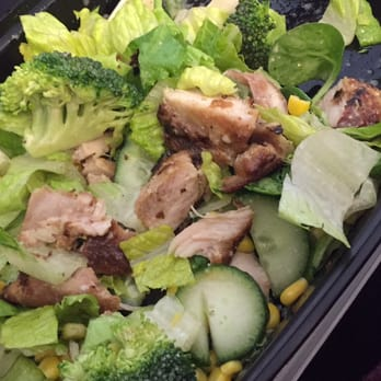 ... Chicago, IL, United States. Self packed Salad + Ginger baked chicken