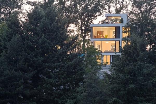 Bauhaus Stiel ursel architekt architects zasiusstr 67 freiburg baden