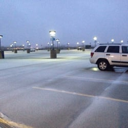 Photo Of Alewife Station   Cambridge, MA, United States. Parking Lot Is  Empty