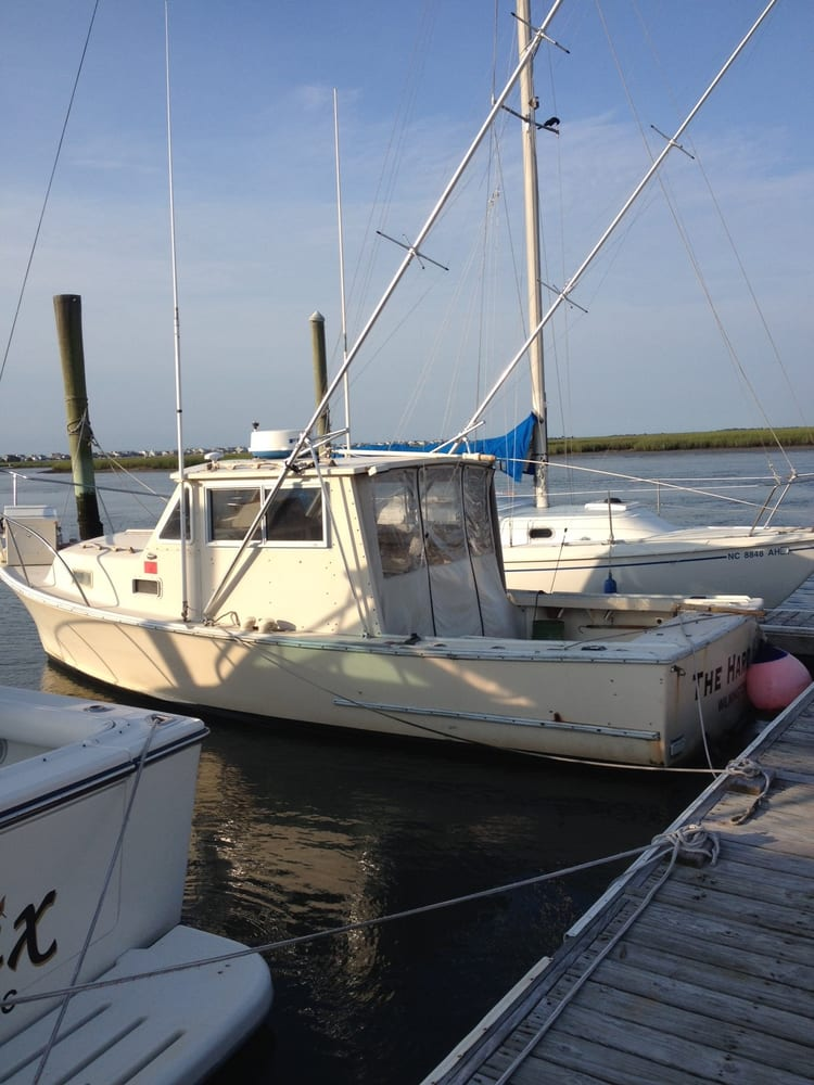 Deep sea express fishing charters fishing wrightsville for Deep sea fishing nc
