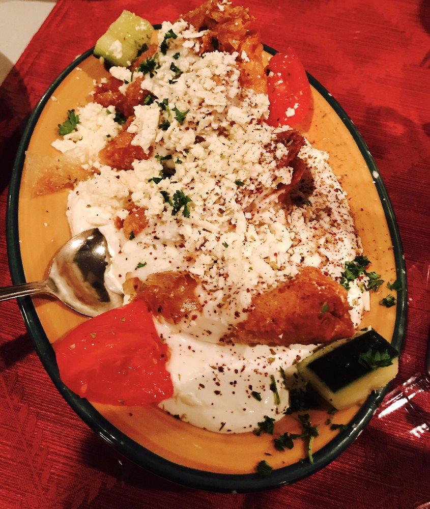 Mediterranean Kitchen Bellevue Wa: Appetizers:SPINAKOPITA. Baked Filo Stuffed With Spinach