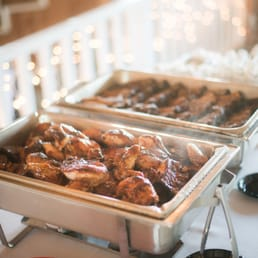 photo of backyard bistro raleigh nc united states catered wedding