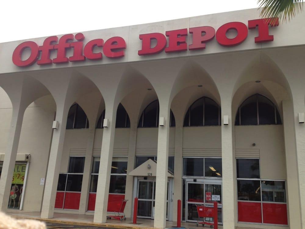 Office depot office equipment 520 w 49th st hialeah fl phone number yelp - Office depot saint gregoire ...