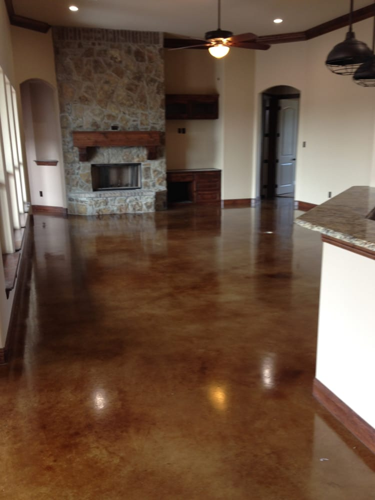 Hastings Stained Concrete Floors Flooring Northeast Dallas Tx Phone Number Yelp