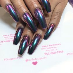 Hair nails designers nail salons 10112 indiana ave photo of hair nails designers riverside ca united states acrylic nails prinsesfo Image collections