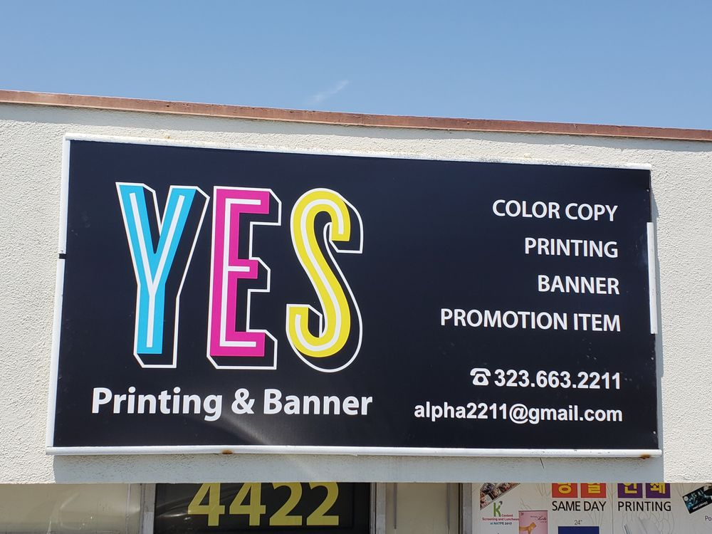 YES Printing and Banner