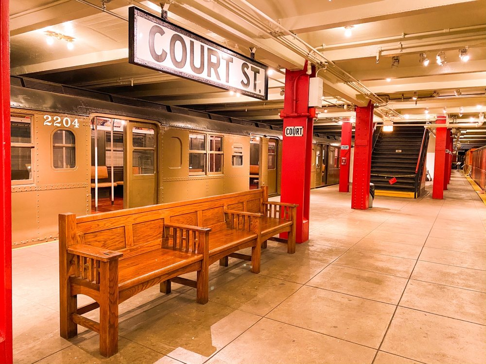 Social Spots from New York Transit Museum