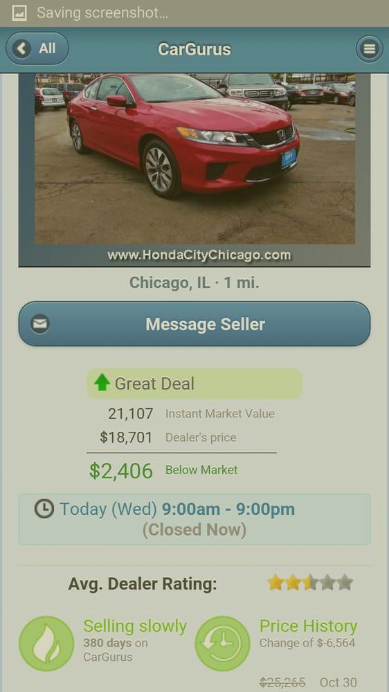 Honda city 98 reviews car dealers 4950 s pulaski rd for Honda dealer phone number
