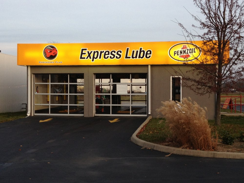 Checkered Flag Express Lube: 350 Millcreek Dr, Marysville, OH
