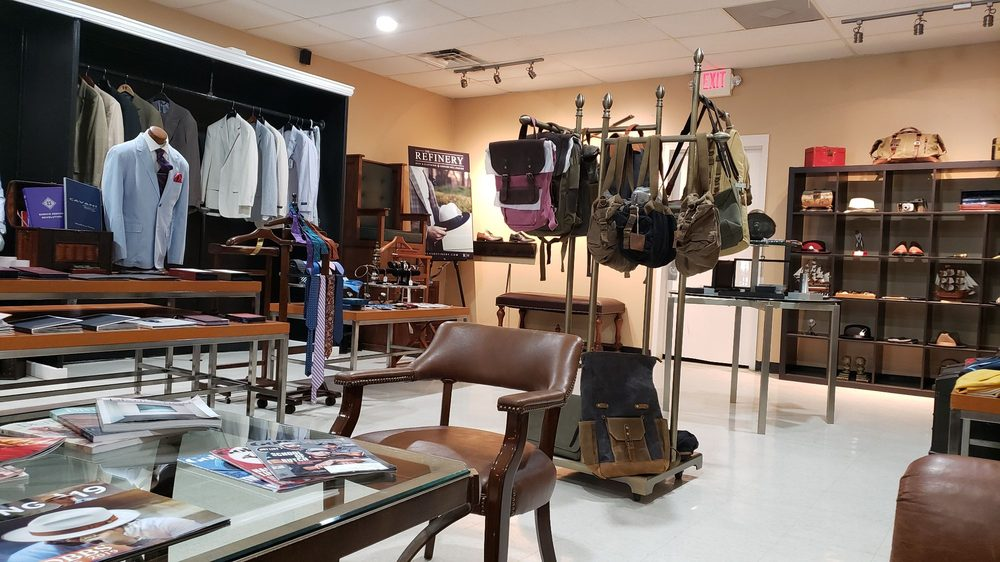 The Men's Refinery Clothing and Grooming Lounge