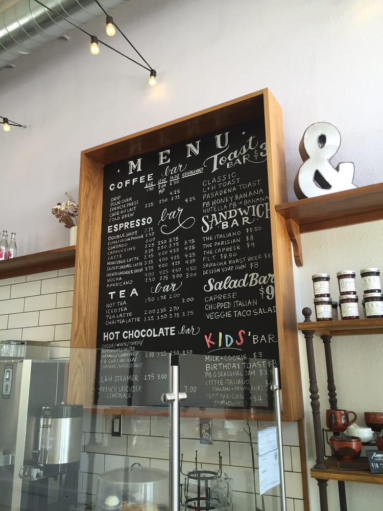 Mattlorna Cafe Menu