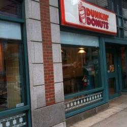 Dunkin Donuts Doughnuts Deaconess Hospital Boston