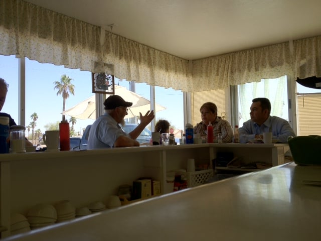Alex's Coffee Shop: 13716 Sunland Gin Rd, Arizona City, AZ