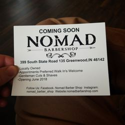 Nomad barbershop barbers 399 s state rd 135 greenwood in photo of nomad barbershop greenwood in united states reheart Image collections