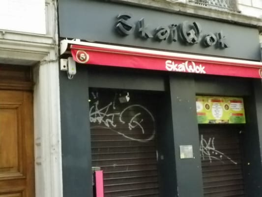 ska wok closed takeaway fast food 54 rue victor hugo ainay lyon france restaurant. Black Bedroom Furniture Sets. Home Design Ideas