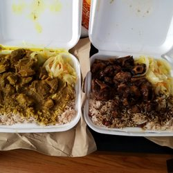 Photo Of Only One Jamaican Restaurant Dorchester Center Ma United States Curry