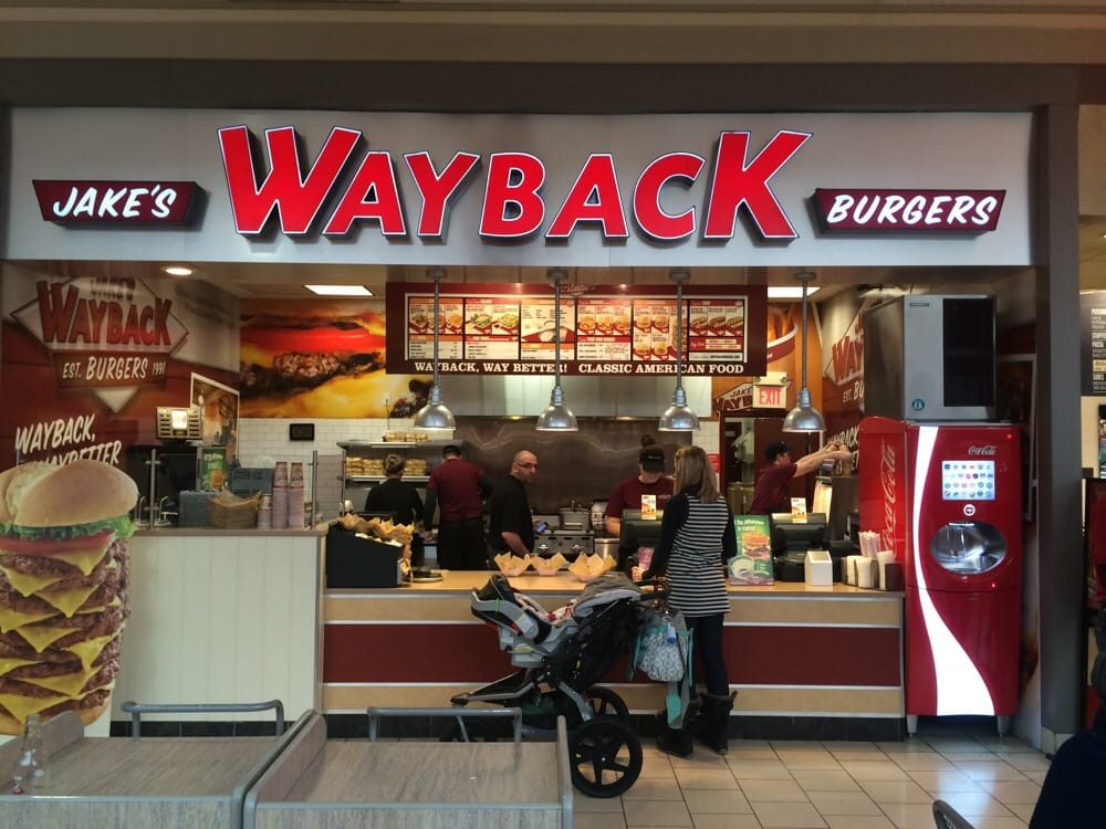 wayback burgers burgers 21182 salmon run mall watertown ny united states restaurant. Black Bedroom Furniture Sets. Home Design Ideas