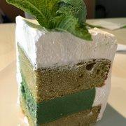 our signature green tea ice cream cake menu asian mint dallas