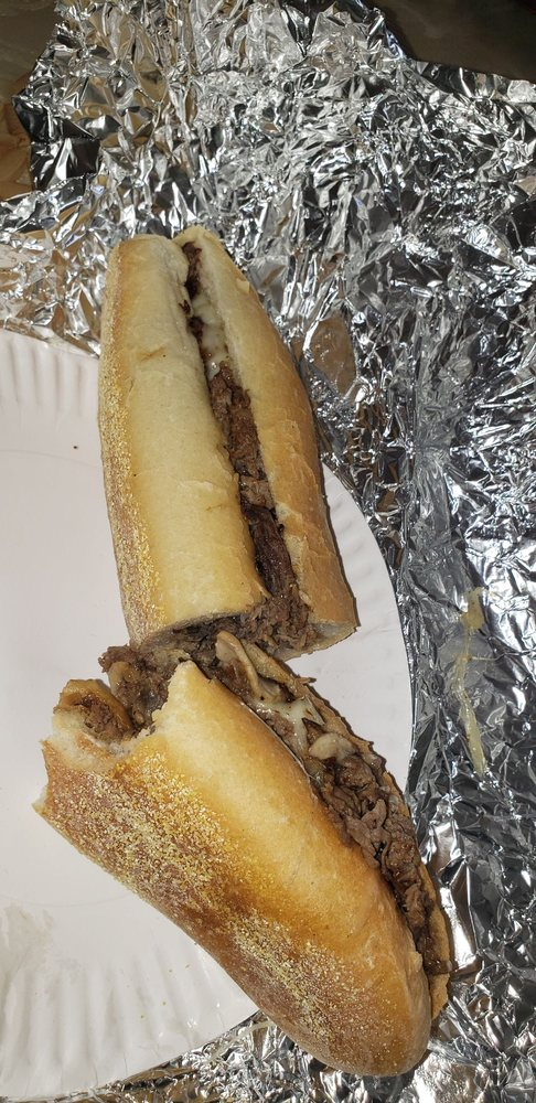 Food from Mad Mikes Cheesesteaks &