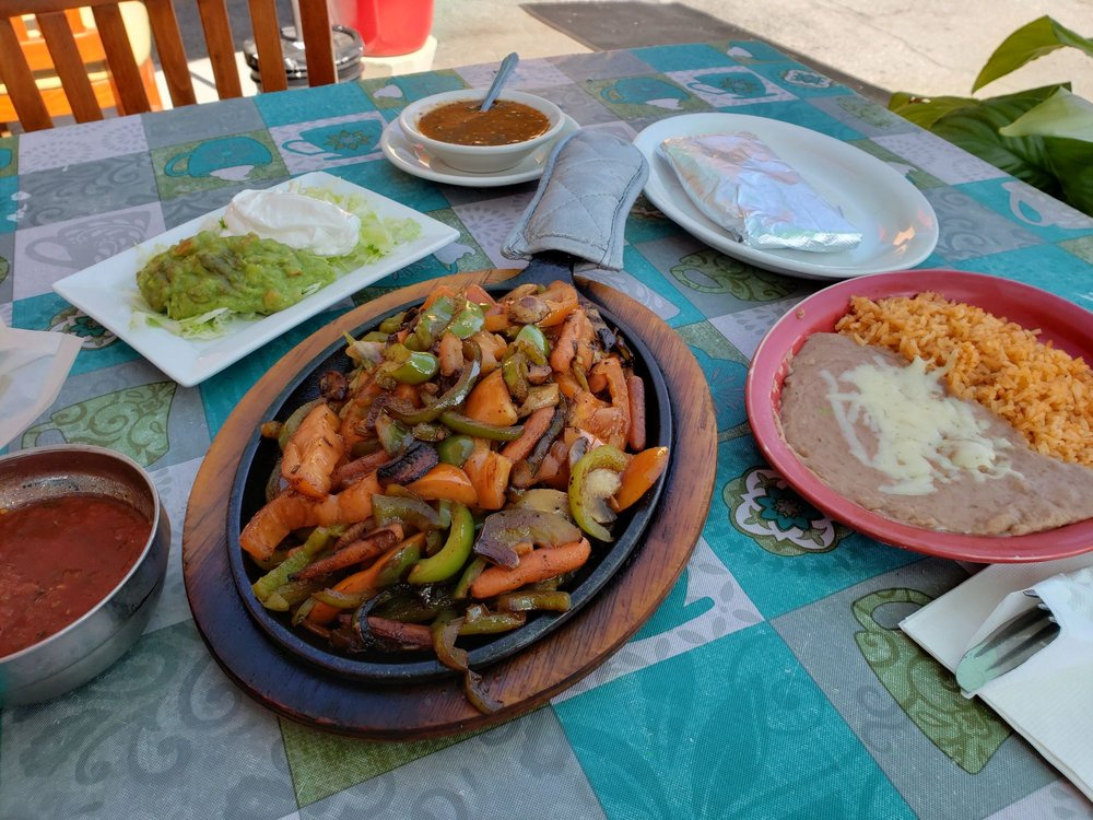 Food from Montezuma Mexican Restaurant