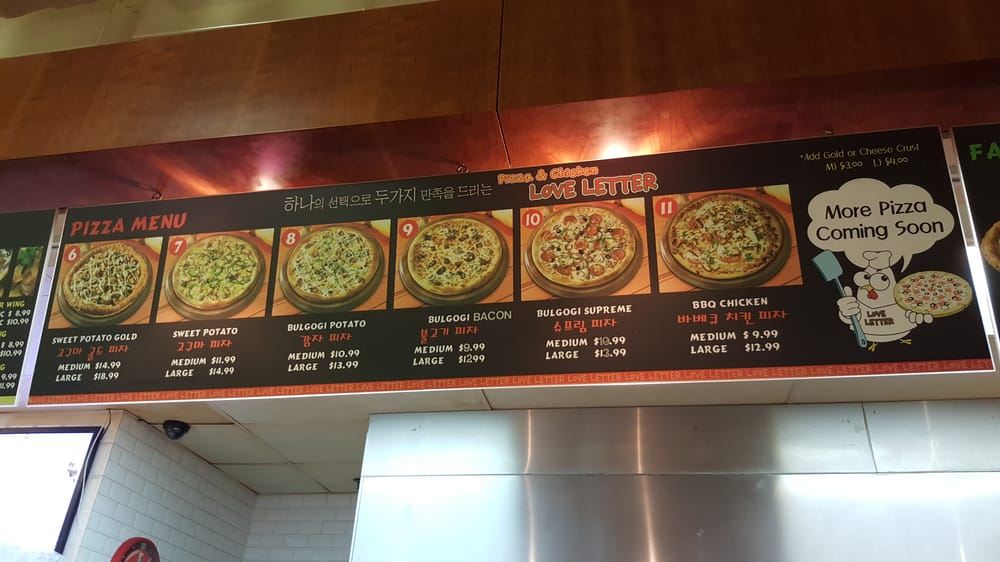 love letter pizza menu as of may 2015 2 yelp 23482 | o