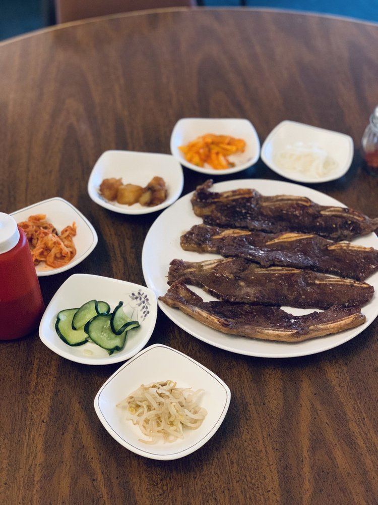 Food from Korean Kitchen