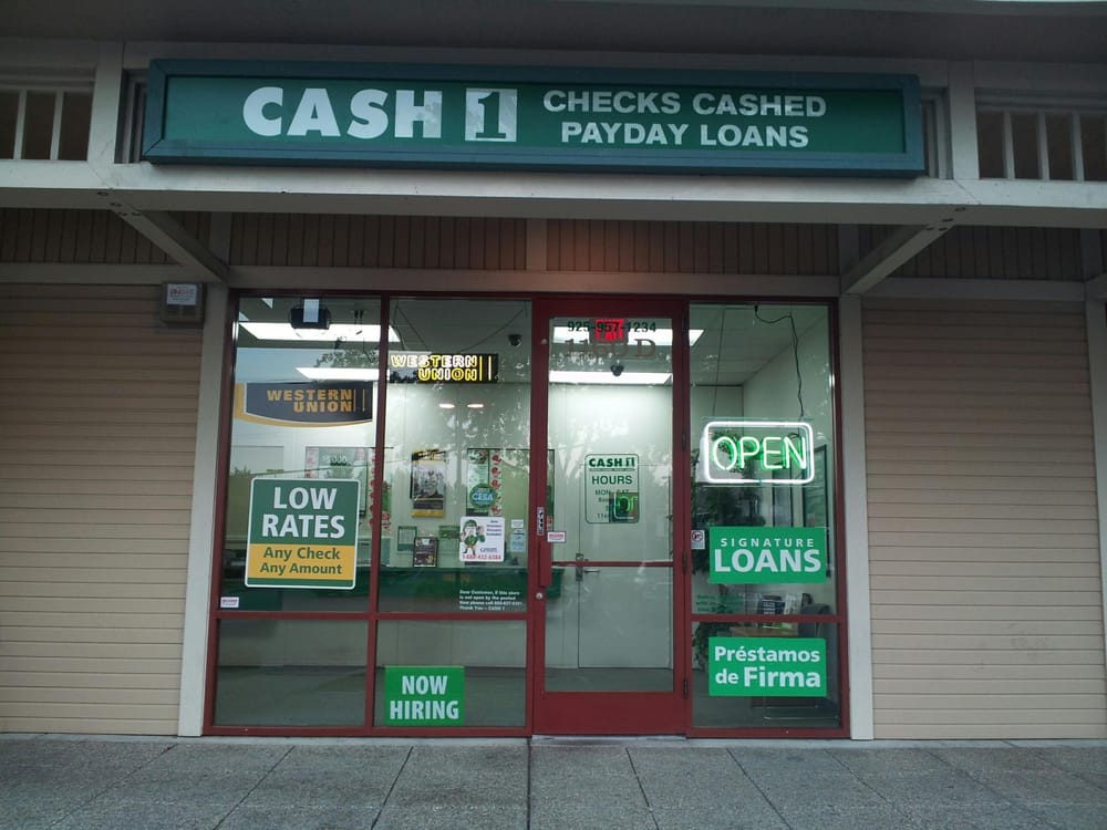 Cash 1 CLOSED Check Cashing Pay day Loans 1160 D Arnold Dr
