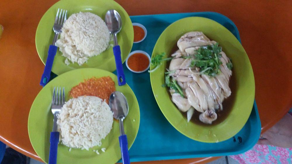 Maxwell Hainanese Chicken Rice Singapore
